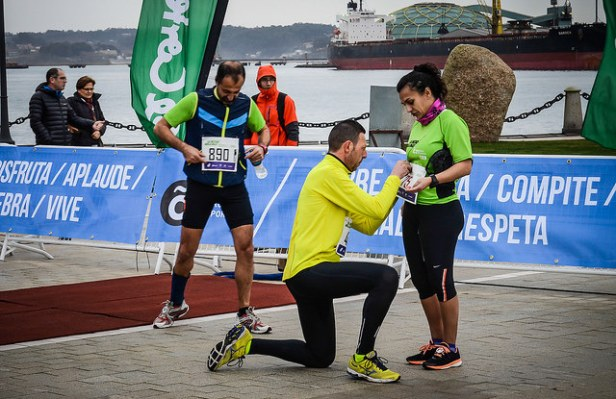Runner girls are still rare in Coruña - www.coruna.es