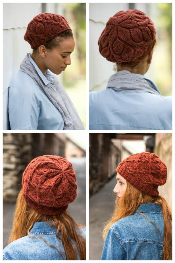 Brooklyn Tweed Rambler and Scrollwork hats by Irina Dmitrieva